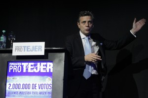 Ariel Schale, Director Ejecutivo de Pro Tejer