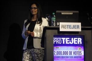 Julieta Loustau, economista de la Fundación Pro Tejer