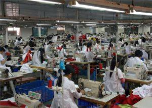 Fábrica confeccionista en Vietnam