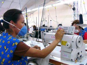 Fábrica de confecciones en Colombia
