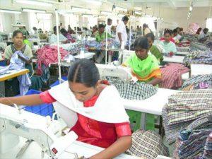 Fábrica de confecciones en India