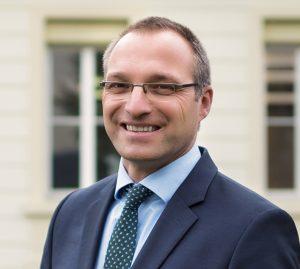 Stefan Müller, gerente global de ventas de Sanitized